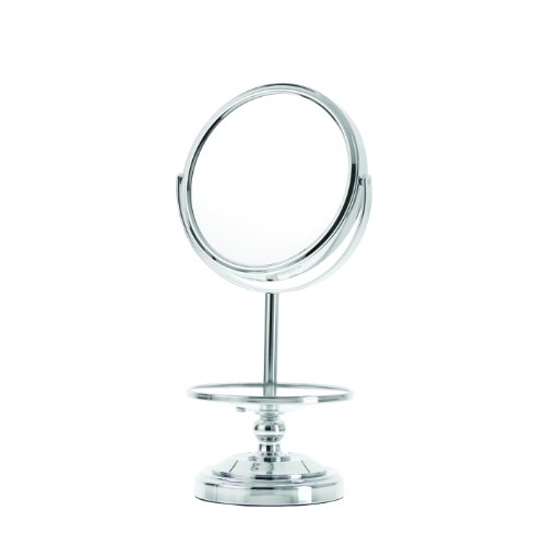 Danielle Enterprises 10X Magnification Chrome Mirror With Jewelry Stand front-260334
