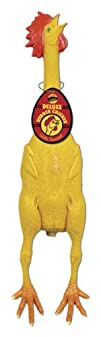 Accoutrements Deluxe Rubber Chicken