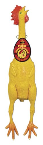 Accoutrements Deluxe Rubber Chicken front-981470