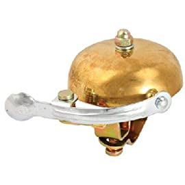 Crane Suzu Lever Strike Bicycle Bell - Brass - 13182