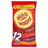 KP Hula Hoops Meaty Snacks 12 X 25G