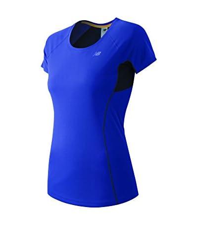 New Balance T-Shirt WT61229 blau