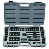 31FdSS84S L. SL160  Stanley 92 824 Black Chrome and Laser Etched Socket Set, 69 Piece