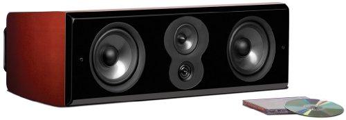 Polk Audio LSI M706c High-End Center Lautsprecher (250W, 3-Wege mit Power-Port) Mount Vernon Cherry Cherry, Stück