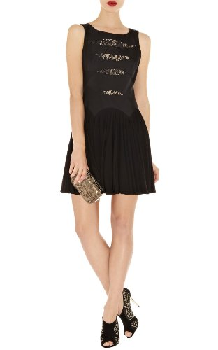 Lace and Jersey Dress