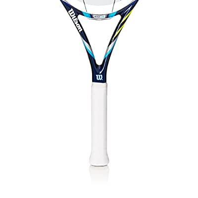 """Wilson Juice 100UL Ultra Light Tennis Racquet, 4.375, 4.375""""/Red"""