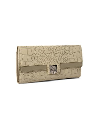 Baggit Lw Mojito Croco Beige Women's Wallet (8903414579372)  available at amazon for Rs.1275
