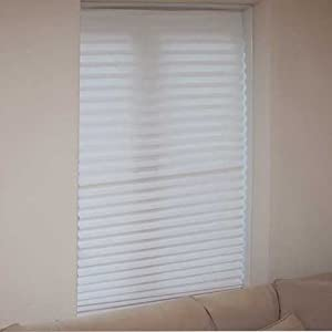 Blinds In A Box Set of 3 Temporary White Window Blinds