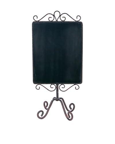 Skalny Chalkboard Display, Brown/Black