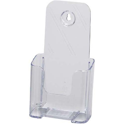 Cruise catalog stand A4 tri-fold single-stage clear