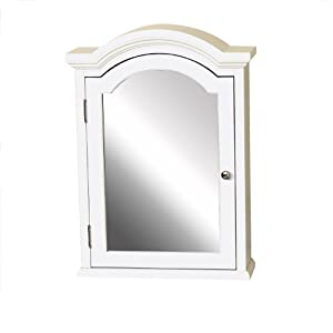 "Amazon.com - Zenith Products MC40WW Arched Crown Pediment 20"" x 27"