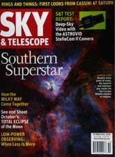 Sky & Telescope Magazine October 2004