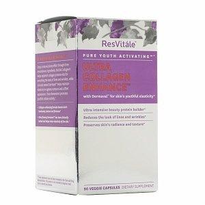 ResVitale Ultra Collagen Enhance with Dermaval, Veggie Caps 90 ea