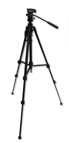 Carson Triforce 3-Way Pan-Head Tripod, Black, 62.6-Inch (Tf-300)