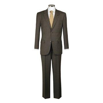 Cerruti Taupe Plain Pick and Pick Suit Taupe, 48L