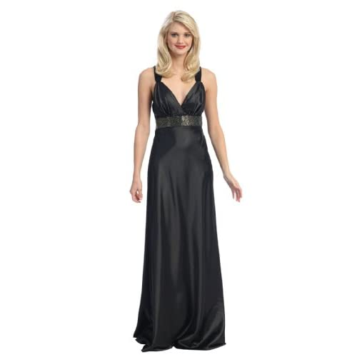 Elegant Sexy Bridesmaid Formal Prom Gown Dress