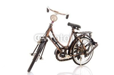 "Wallmonkeys Peel and Stick Wall Decals - Old Female Bike - 48""W x 32""H Removable Graphic"