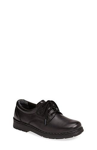 Jumping Jacks Ted Lace Up Oxford, Black Leather, 10.5 Little Kid W