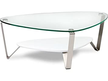 Dino Large Coffee Table in White