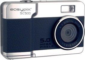easypix SC500 SILVER  シルバー   ドイツのおしゃれな カメラブランド イージーピックス