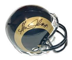 Steven Jackson St Louis Rams Signed Autographed Mini Helmet Authentic Certified Coa