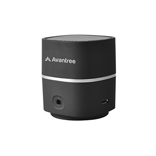 Avantree Btsp-Tr401-Blk Pluto Air Mini Portable Rechargeable Bluetooth Speaker For Mobile/Tablets/Desktop (Black)