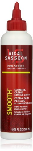 Vidal Sassoon Pro Series Smooth Combing Creme 6.08 Fl Oz (037000846987)