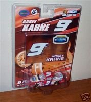 Kasey Kahne #9 Hellman's Ragu Dodge Charger 1/64 Scale With Bonus Foil Card Winners Circle - 1