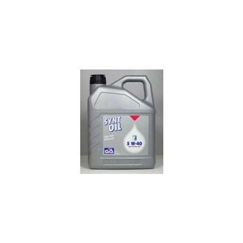 ad Synt-Oil 5W40 5 Liter Öl Motoröl 5W-40 VW:
