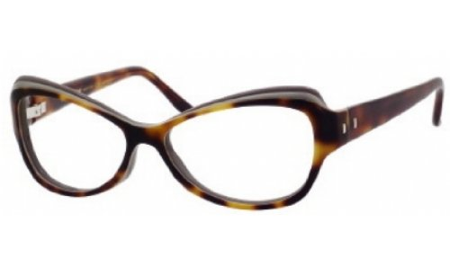 Yves Saint Laurent Yves Saint Laurent 6369 Eyeglasses-0LQ9 Havana Beige Gray-54mm