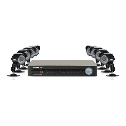 Lorex Eco2 Security Camera System With 8 Super Resolution Cameras (Lh138501C8B)