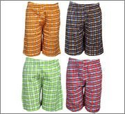 Spictex Boys' Cotton Shorts (Pack Of 4) (SPIC-CT142-PC4-02_Multicolor_8 Years - 9 Years)