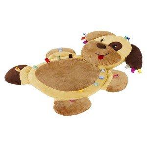Taggies Tags N Snuggles Mat Brown Dog Тигран Голова́нов