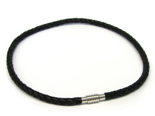 Bruno Banani Men's Bead Necklace Stainless Steel 64/826225