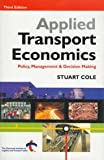img - for Applied Transport Economics book / textbook / text book