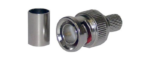 Pyle Home PBNC050 BNC Male Plug Connector, 3-Piece