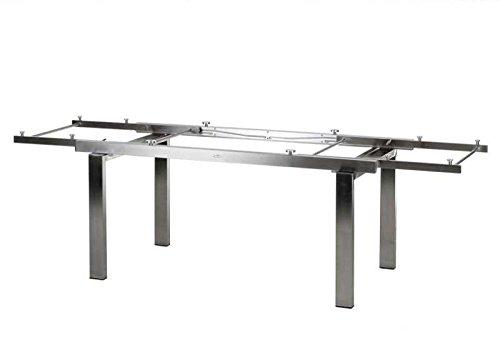 Diamond Garden Tischgestell Edelstahl Neapel XL für DiGaCompact Tischplatten günstig online kaufen