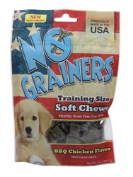 Nootie Llc Tng05Bc No Grainers Soft Chews Grain Free Dog Treats BBQ Chicken 5 Ounce