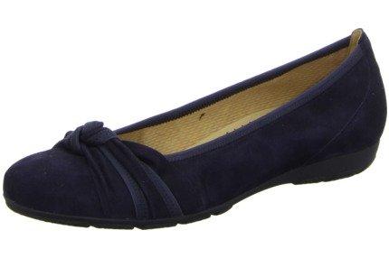 Gabor34.162 - Scarpe chiuse Donna , Blu (Pazifik), 40.5