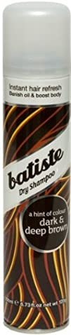 Batiste Dry Shampoo, Dark and Deep Br…