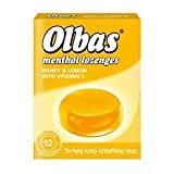 Olbas menthol lozenges honey & lemon with Vit C 30g 12 pack