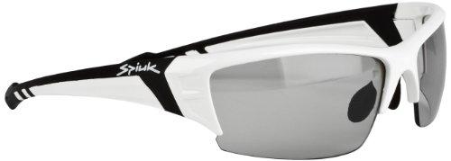 Spiuk Binomial con lentes Lumiris - Gafas de ciclismo unisex, color blanco / negro