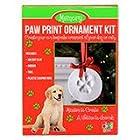 Santa's Lucky Dog Memory Paw Print Ornament Kit