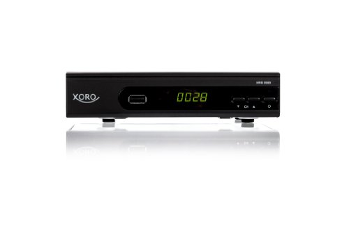 XORO HRS 8560 digitaler Satelliten-Receiver (HDTV, DVB-S2, HDMI, SCART, PVR-Ready, USB 2.0)