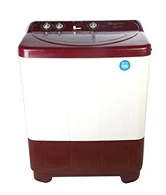 Electrolux ES72USMR Semi-automatic Top-loading Washing Machine (7.2 Kg, Maroon Red)