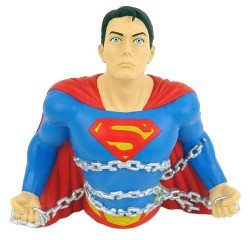 Superman Returns Poly Resin Bust Bank - 1