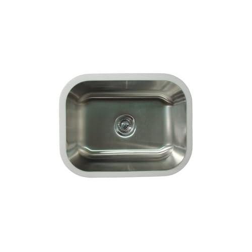 Karran Sinks : Karran Undermount Stainless Sinks : Undermount Single Bowl E120 ...