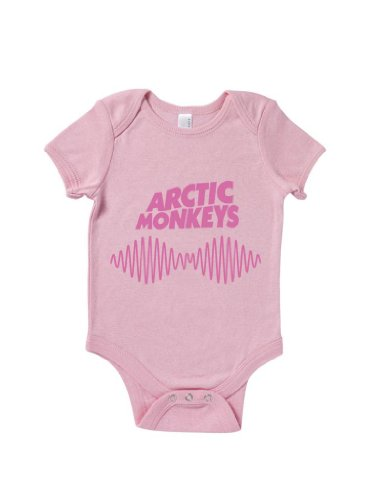Blue Ivory Arctic Monkeys Sound Wave Baby Grow Rock Band Music front-874594