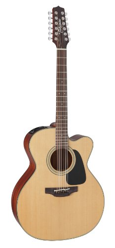 Takamine Pro Series 1 P1Jc-12 Jumbo Body 12-String Acoustic Electric Guitar With Case