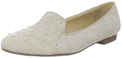 Wanted Shoes Women's Explode Slip-On Loafer,Ice,10 M US